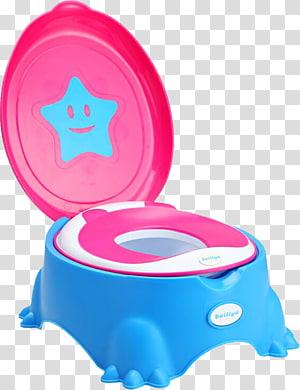Toilet seat Infant Plastic Potty chair, Ladybug toilet.