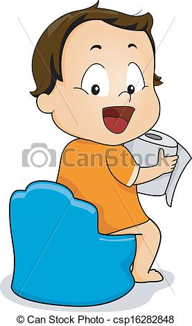 Clipart potty training pictures.