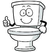 3271 Toilet free clipart.