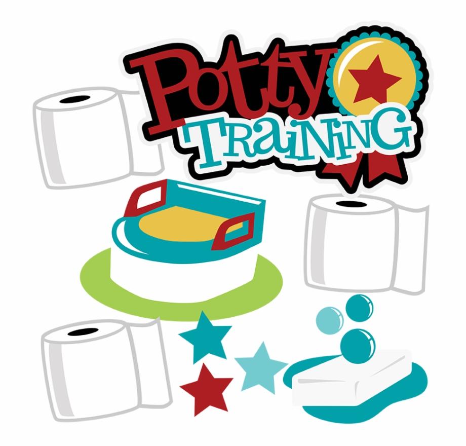 Potty Training Svg Scrapbook Collection Potty Training.