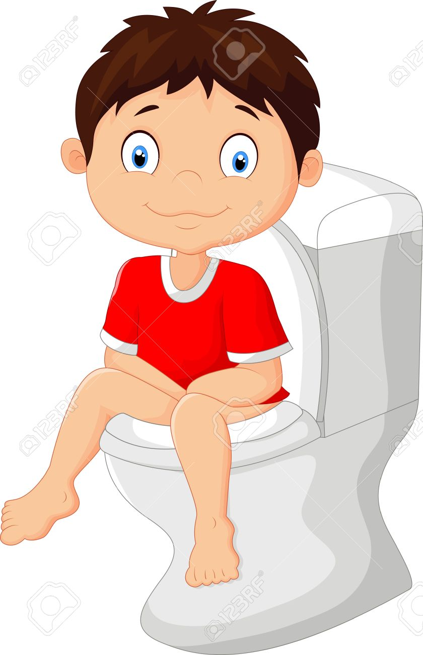 Sit on toilet clipart » Clipart Station.