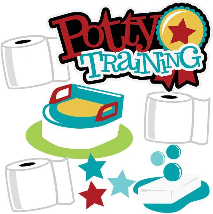 Potty Training Clipart.