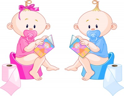 Potty training clipart free.
