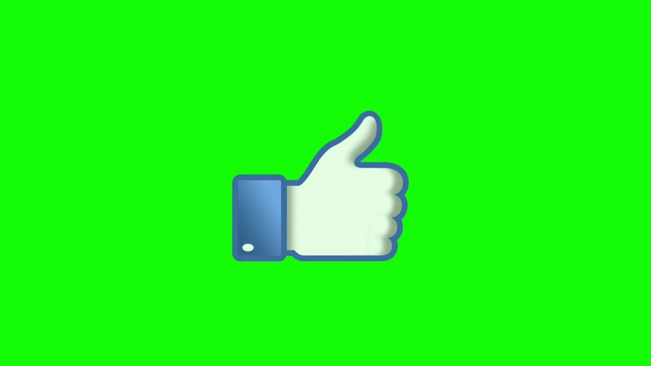 Fond vert pouce bleu brillant free copyright ! Full HD.