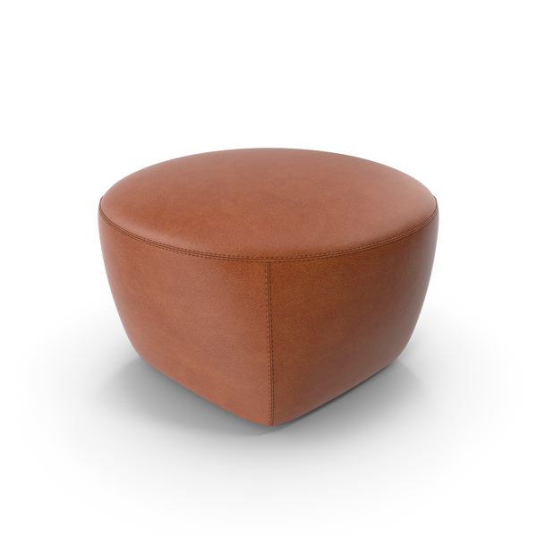 Minotti CAPRI Leather Pouf PNG Images & PSDs for Download.