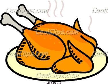poultry clipart #roast_chicken_CoolClips_vc008842.