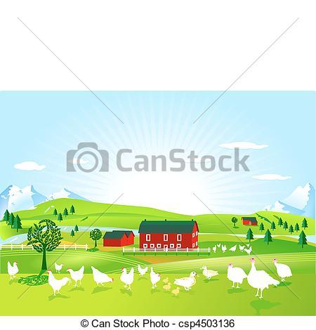 Poultry farm Stock Illustration Images. 7,837 Poultry farm.