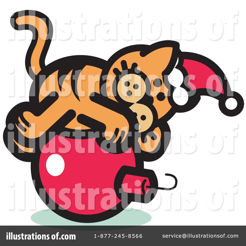 Pounce Cat Clipart #14556.