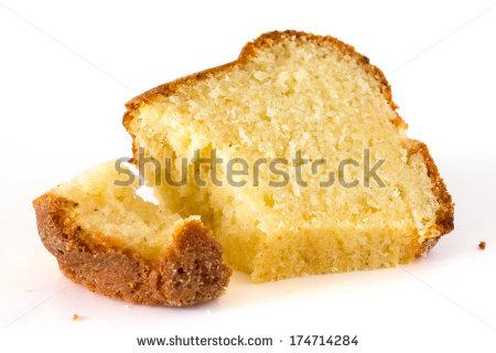 Pound cake clipart.