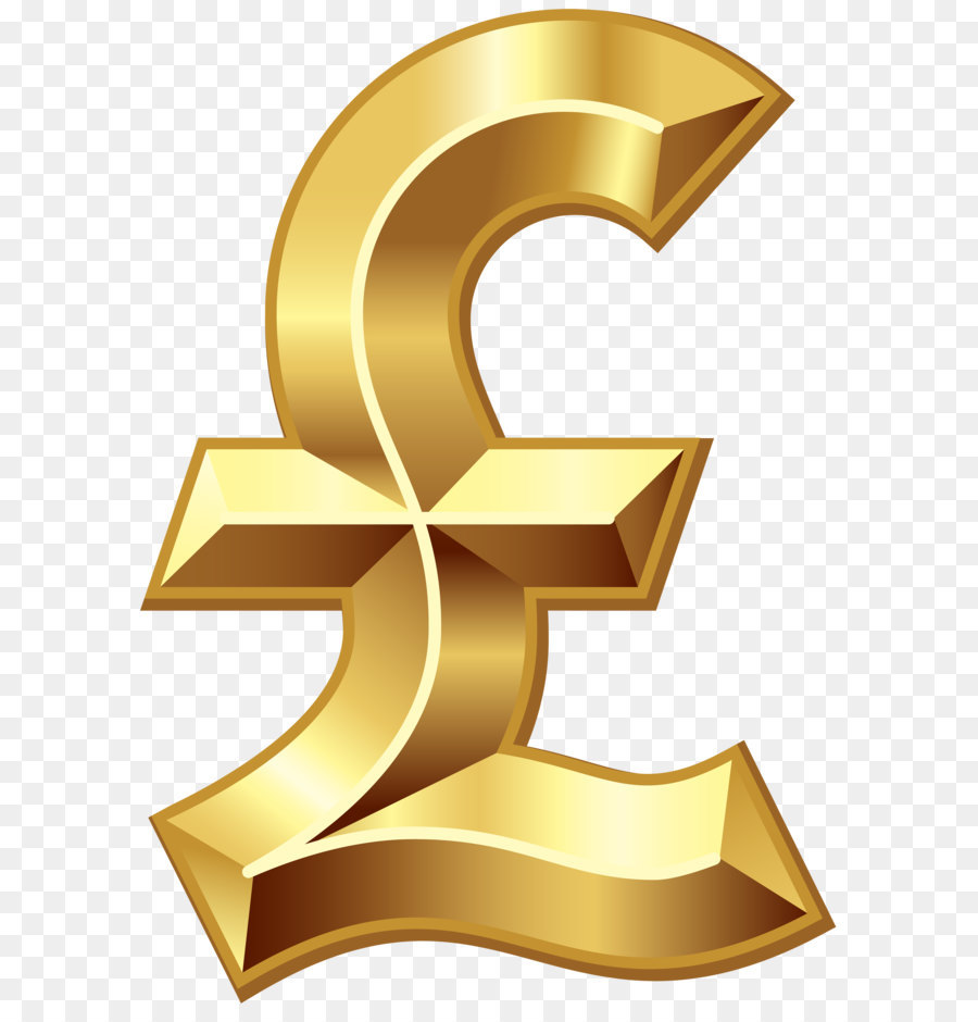 Gold Dollar Sign png download.