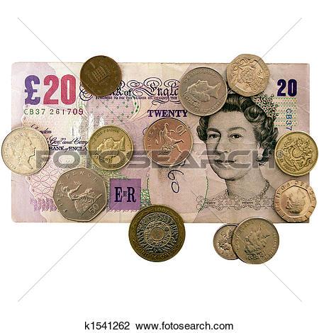 Clip Art of Pounds k1541262.