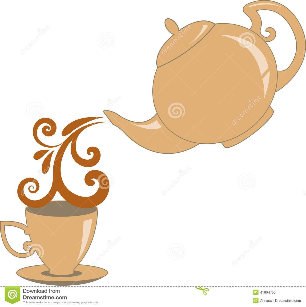 Pouring tea pot clipart 4 » Clipart Portal.