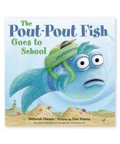 The Pout Pout Fish Goes to School song! Everything about this is.