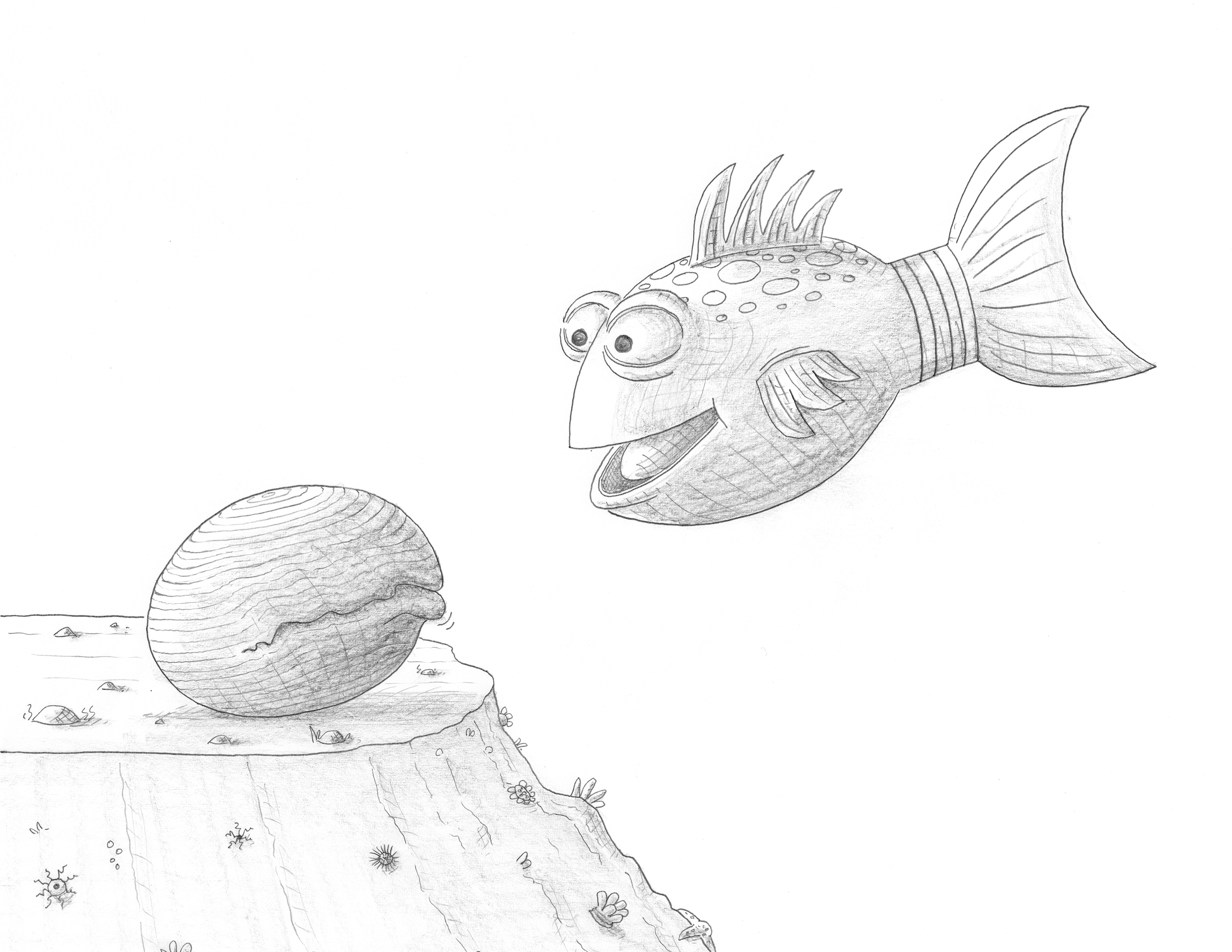 Pout Pout Fish Clipart.