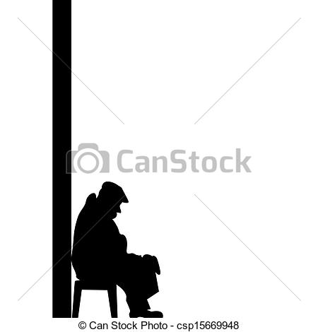 Old age poverty Illustrations and Clip Art. 43 Old age poverty.