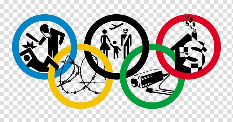 Human rights Olympic Games , poverty transparent background.