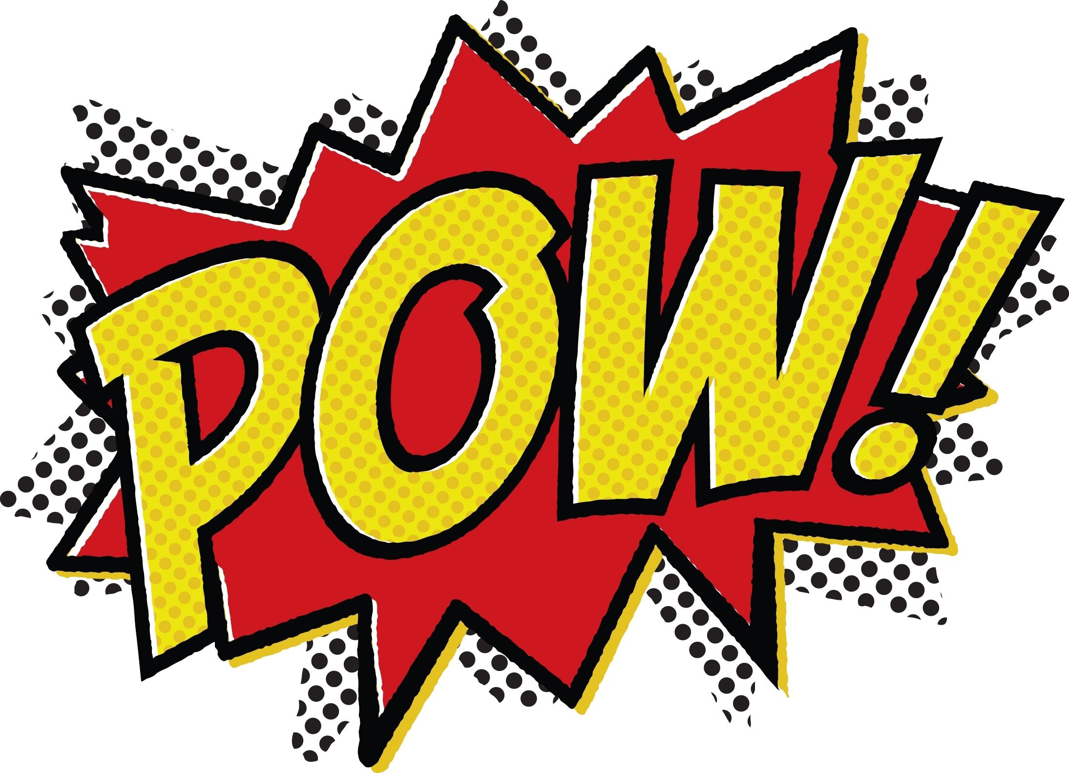 Batman Clipart Pow Png.