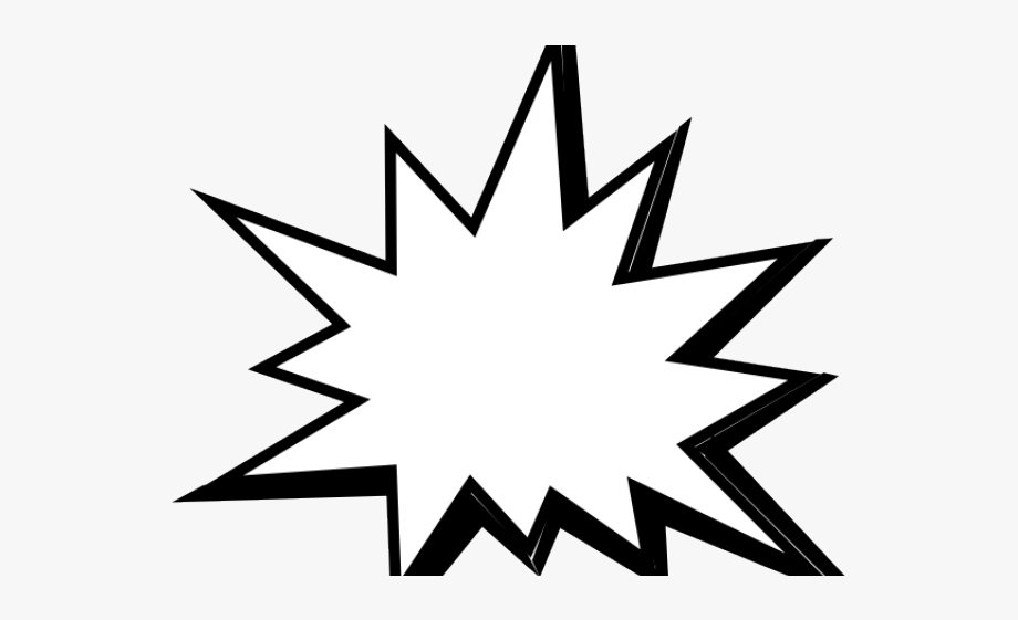 Starburst Clipart Pow.
