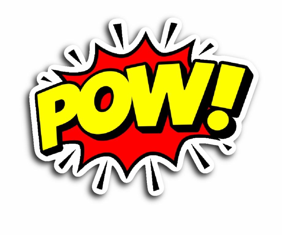Comic Pow Png.