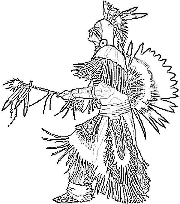 pow wow dancers coloring pages - photo#7