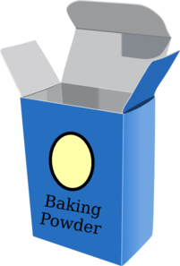 Baking Powder Clipart.