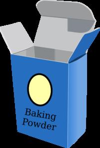 Baking Powder Clipart.