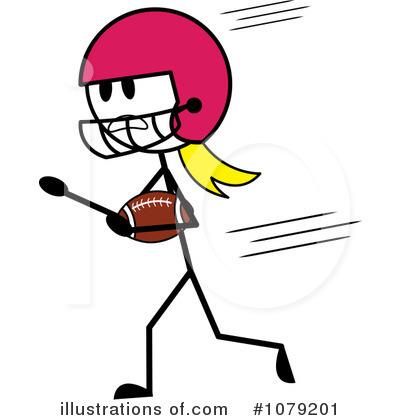 Powder Puff Football Clipart.