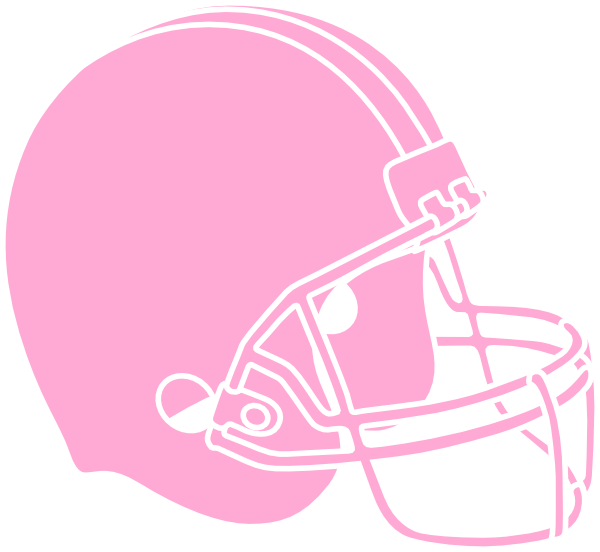 Pink Powder Puff Football Helmet Clip Art at Clker.com.