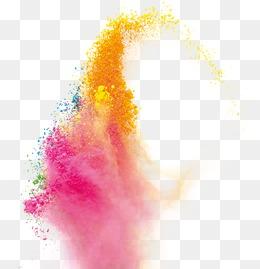 Splash Powder PNG Images.