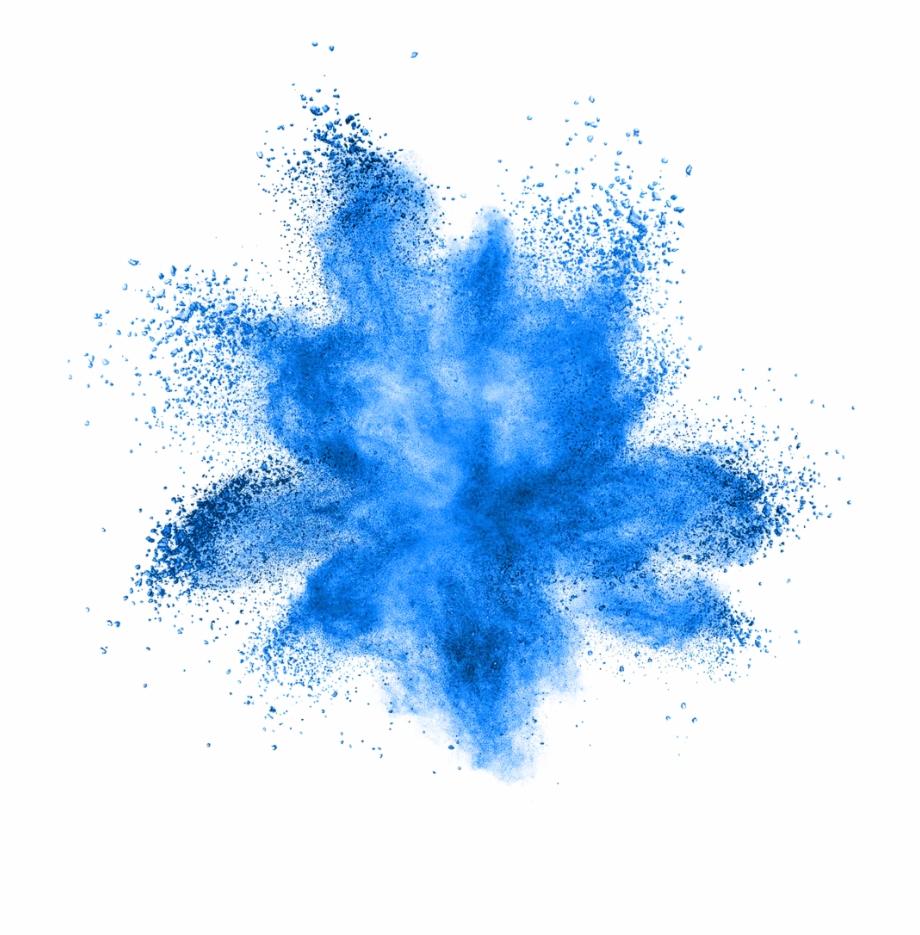blue #smoke #splatter #overlay #ftestickers.