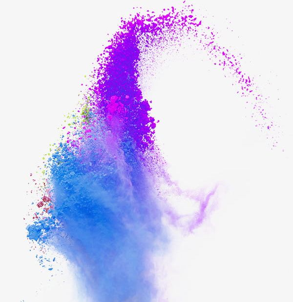 Color Splash Powder Smoke PNG, Clipart, Abstract.
