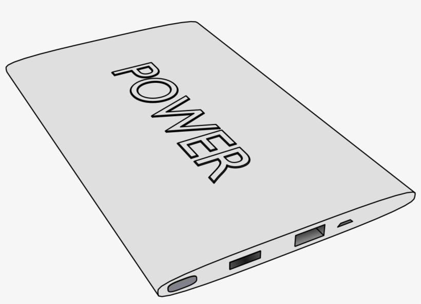 This Free Icons Png Design Of 3d Power Bank Transparent PNG.