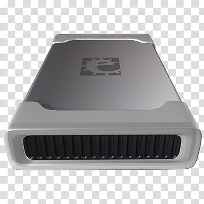 Western Digital Elements Icon, elements_, gray and black.