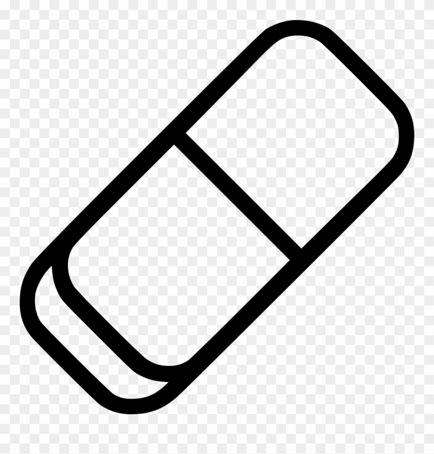 Erase School Rubber Svg Png Icon Free.