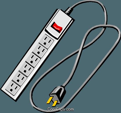 Power bar Royalty Free Vector Clip Art illustration.
