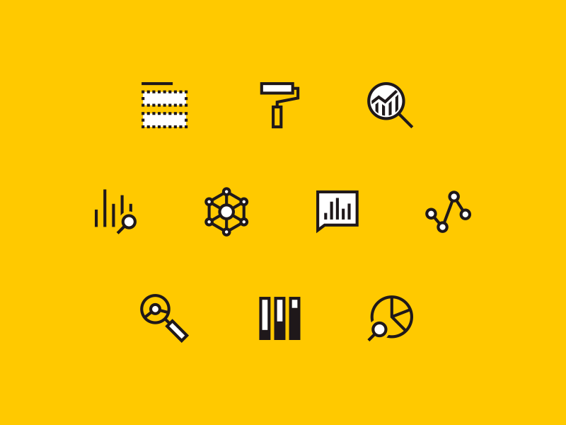 Power BI Icons.