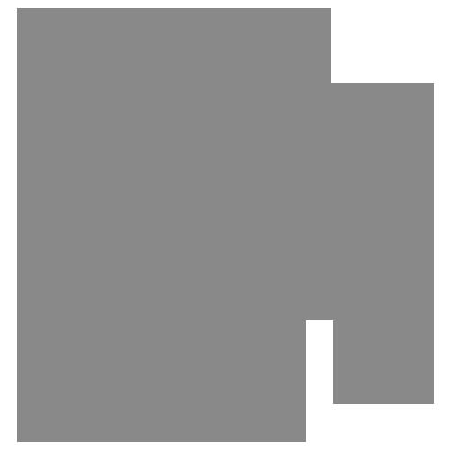 PowerBi icon grey.