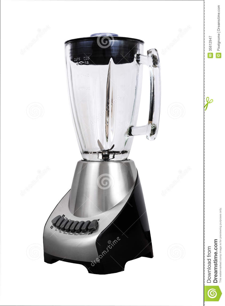 Blender, Shiny Silver Royalty Free Stock Photography.