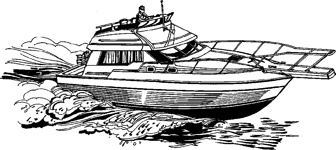 power boat clipart