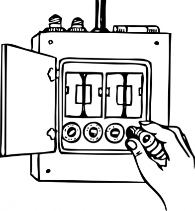 Power Distribution Box Clipart