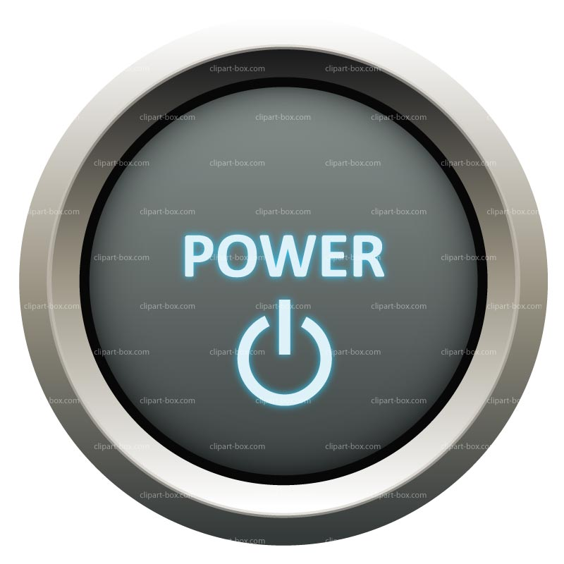 CLIPART POWER BUTTON.