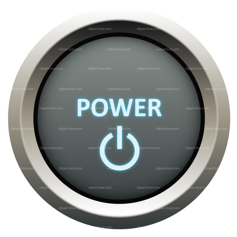 CLIPART POWER BUTTON.