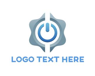 Power Button Logo.