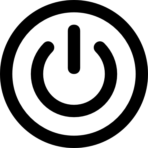 Power Button Symbol.