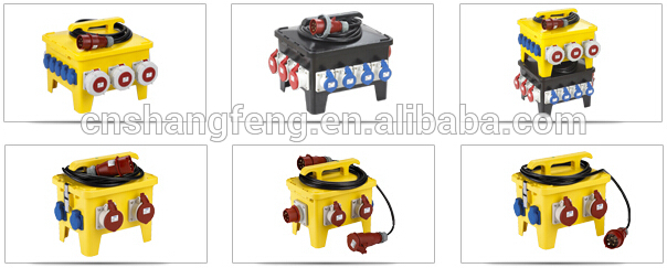 Portable Outdoor Main Sites Electrical Power Distribution Boxes.