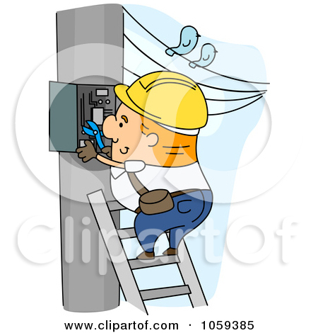 Power distribution box clipart #17