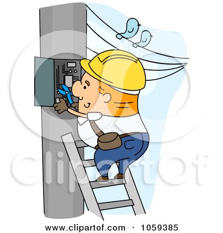 Power distribution box clipart #17