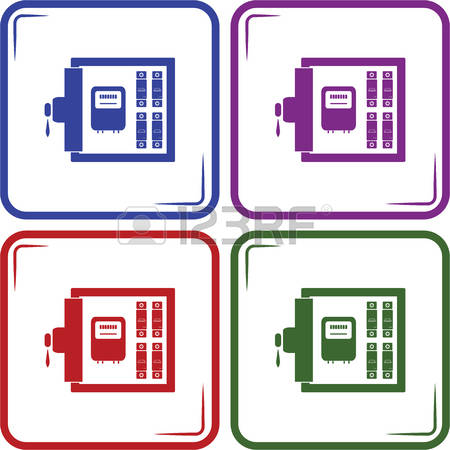 Power distribution box clipart #13