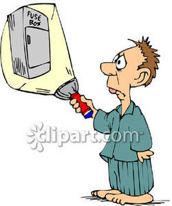 Power distribution box clipart #4