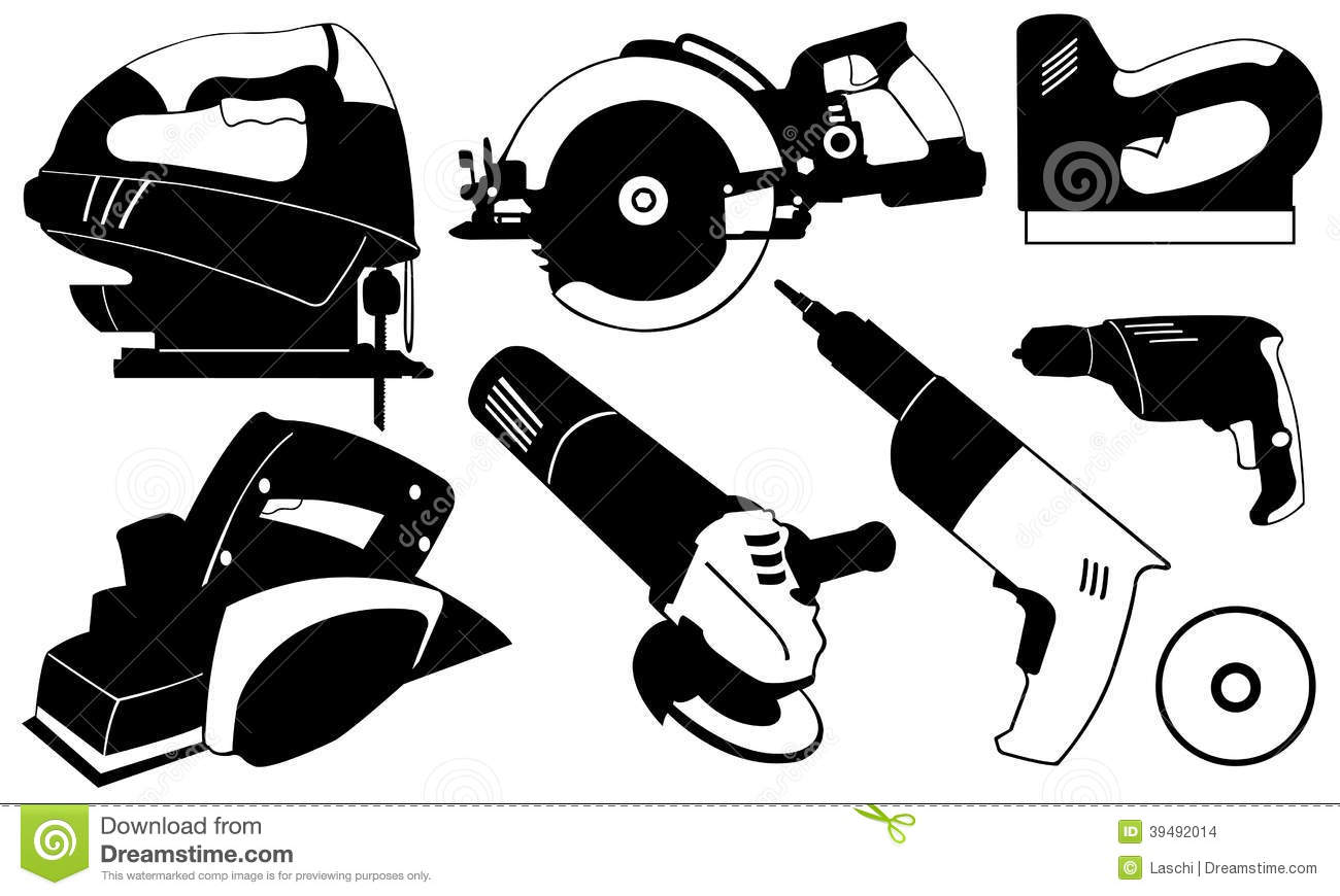 Power tool clipart.